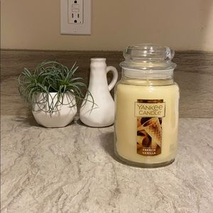 Other - BRAND NEW French Vanilla Yankee Candle